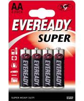53798 Батарейки EVEREADY SUPER R6 типа AA  - 4 шт.